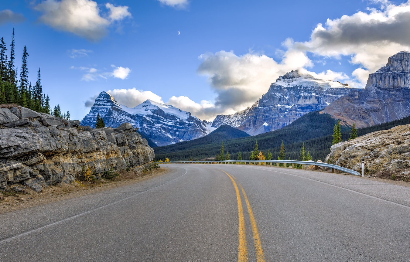 best Road Trips in Canada, Banff and Jasper national parks