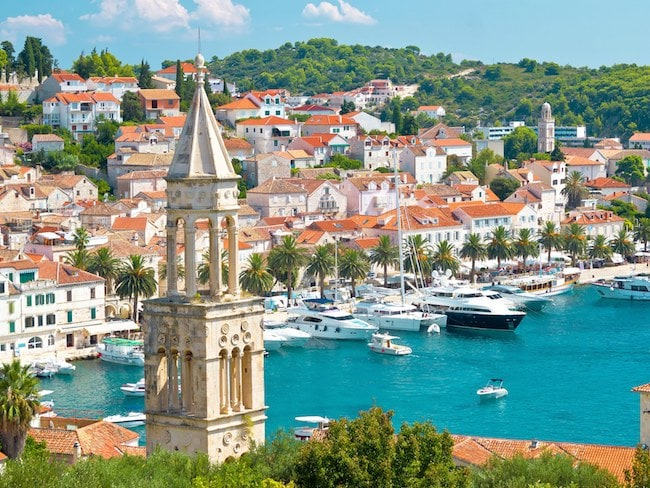 croatia city and beach