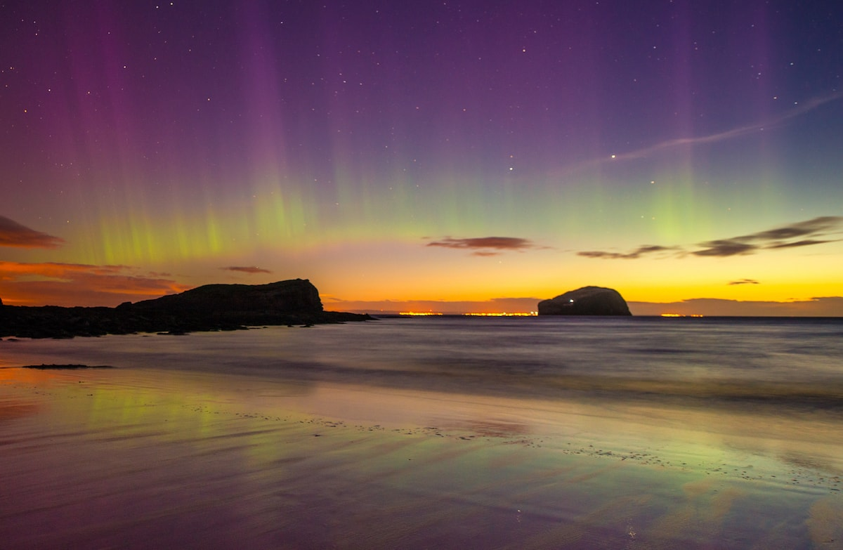 Scotland travel blog, best time to see northern lights