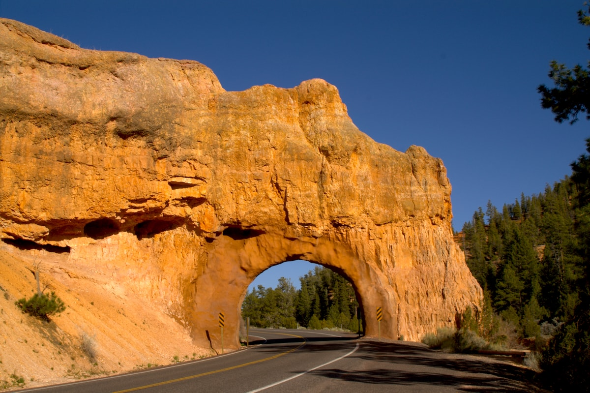 route 12 in utah, road trip in US