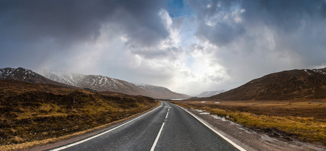 european road trips, wilderness road scotland